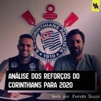 ANÁLISE DOS REFORÇOS DO CORINTHIANS PARA 2020