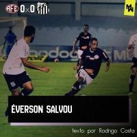 Éverson salvou - ANÁLISE TÁTICA DE  FERROVIÁRIA 0 x 0 SANTOS
