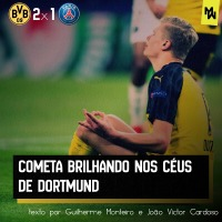 Cometa brilhando nos céus de Dortmund- ANÁLISE TÁTICA DE BORUSSIA DORTMUND 2x1 PSG